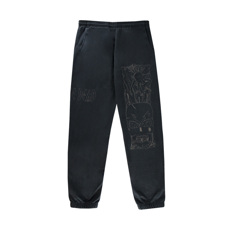 Brain Dead Matt Locke Sweatpants [Black]