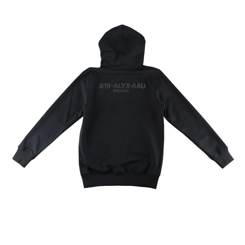 1017 ALYX 9SM Logo Collection Hoodie [Black]