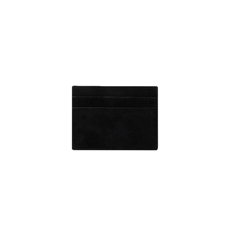 1017 ALYX 9SM Ryan Cardholder in Black Suede  Style: AAUWA0003B001