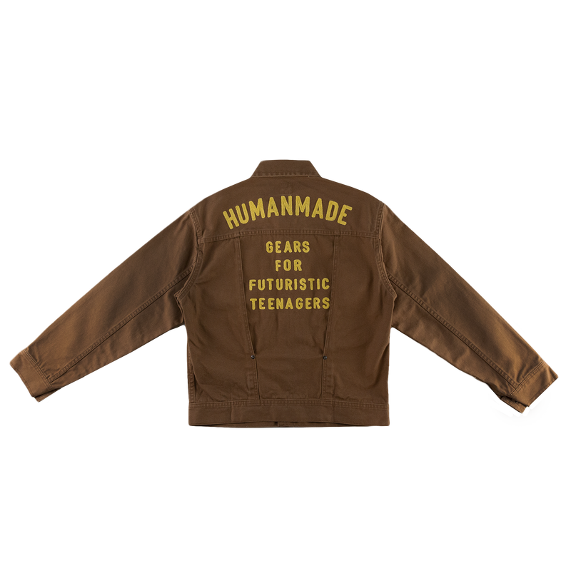 Human Made Work Jacket [Brown]