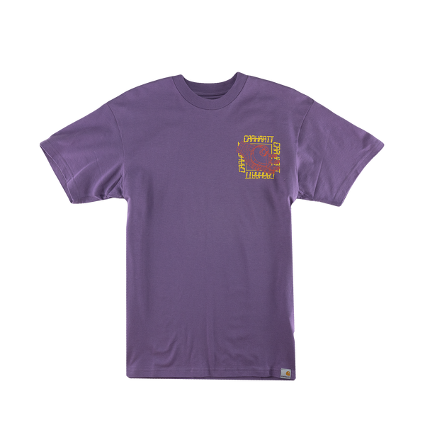 Carhartt WIP S/S Virtual T-Shirt [Dusty Mauve]