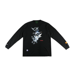 Heron Preston Doves L/S T-Shirt in Black  Style: HMAB002S196000491088