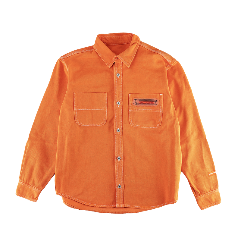 Heron Preston Uniform Shirt [Orange]