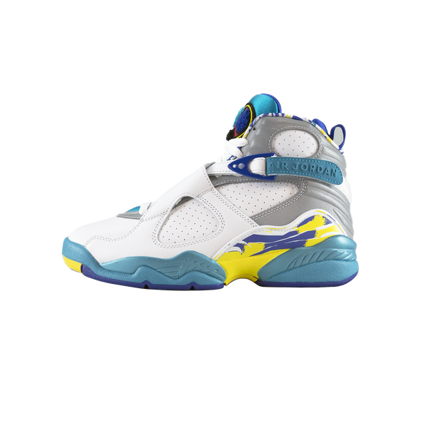 WMNS Air Jordan 8 Retro 'White Aqua' [CI1236-100]