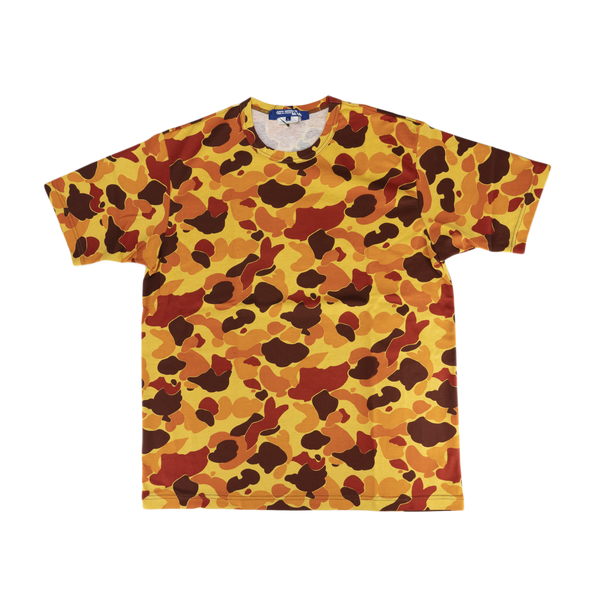Junya Watanabe MAN Camo Pattern T-Shirt [Orange]