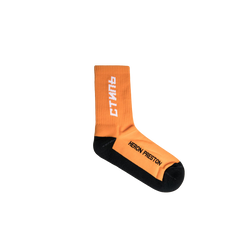 Heron Preston CTNMB Long Socks [Orange/White]