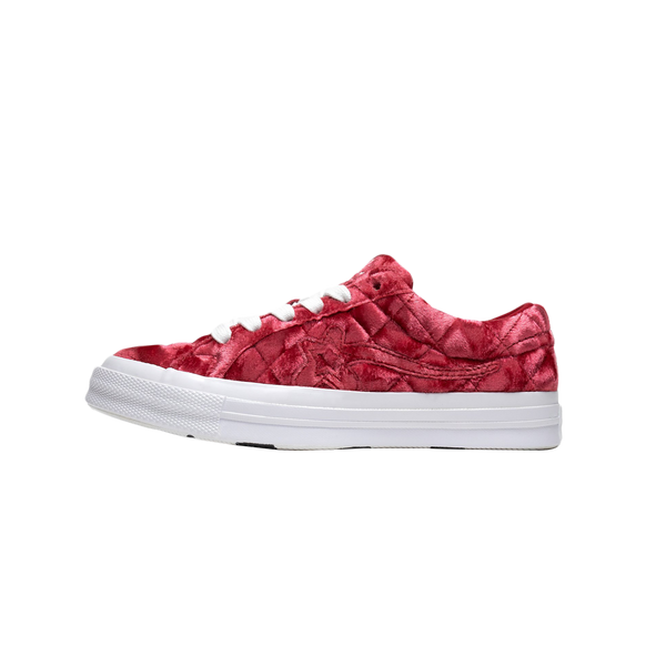 Converse x Golf le Fleur Ox in Barbados Cherry  Style: 165598C