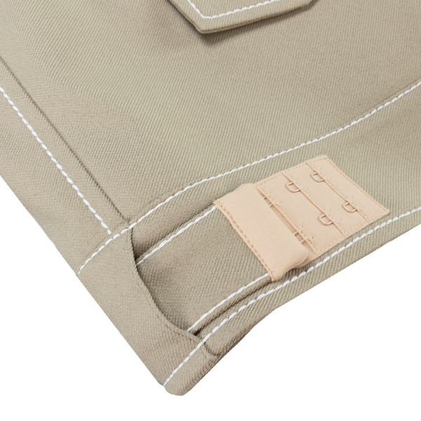 Maison Margiela Techno Gabardine Jacket in Beige  Style: S30AM0456