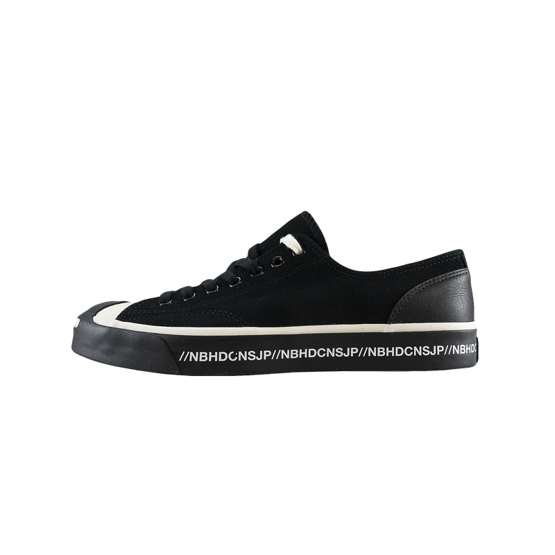 Converse x Neighborhood Jack Purcell Ox 'Black' [165604C]