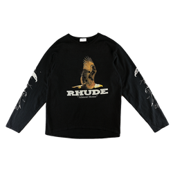 Rhude Almost Home L/S T-Shirt [Black]