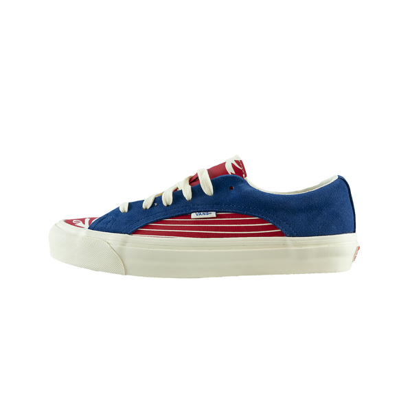 Vans OG Lampin Lx 'True Blue/Racing Red' [VN0A4P3WTJ8]