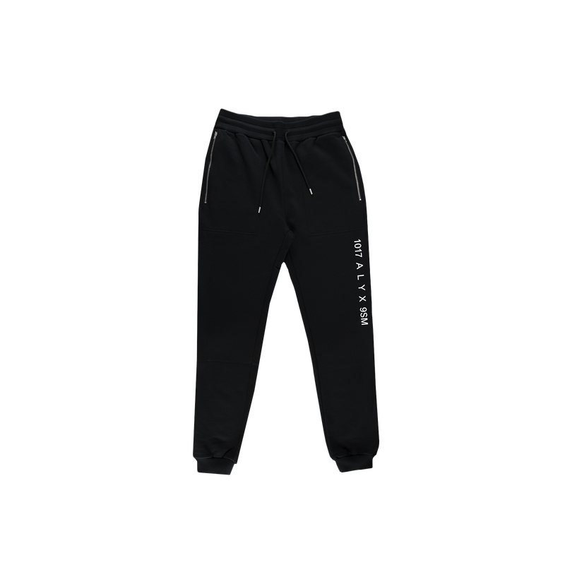 1017 ALYX 9SM Sweatpants in Black  Style: AVUPA0001A001
