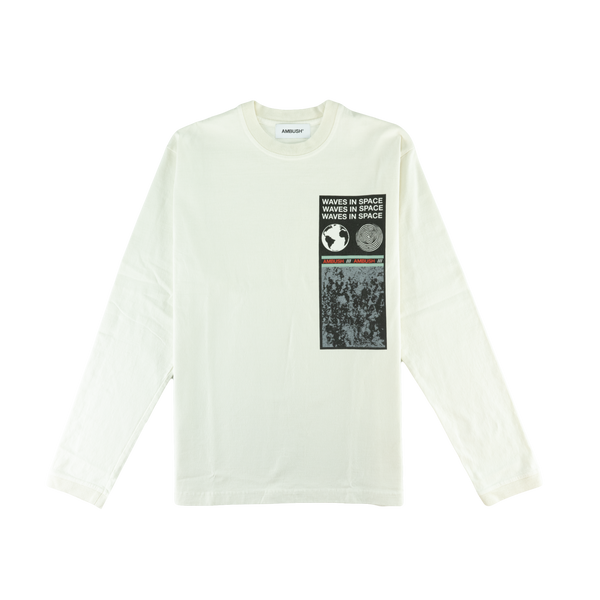AMBUSH Visitor L/S T-Shirt [White]