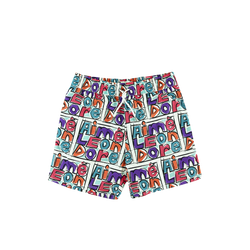 Aimé Leon Dore Crayon Swim Shorts in Purple Tape Combo  Style: SS19WR000C