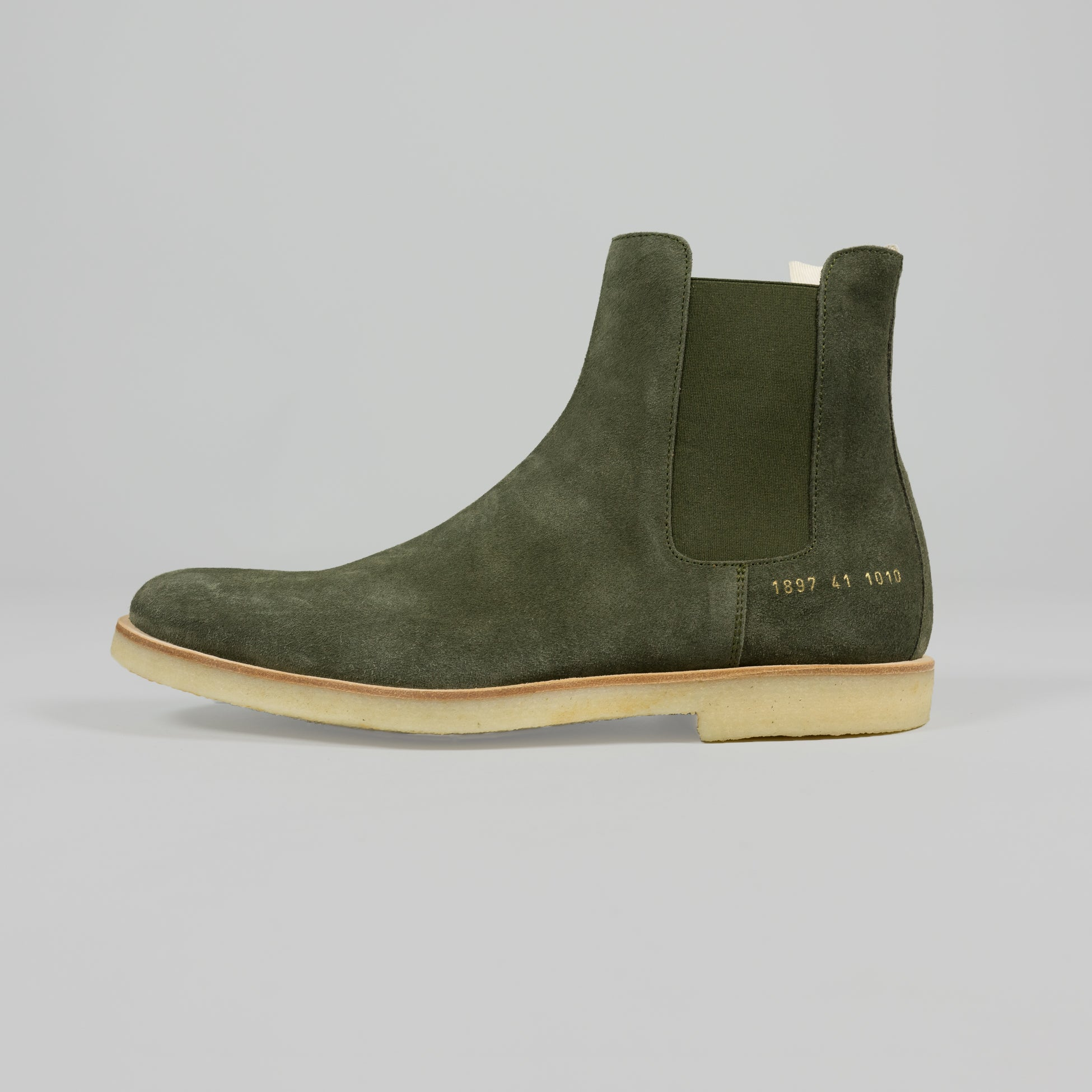 Common Projects Chelsea Boot in Olive