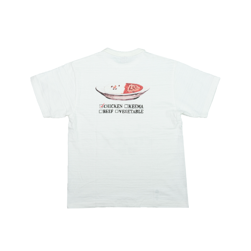 Human Made T-Shirt #1604 'Curry Up' [White]