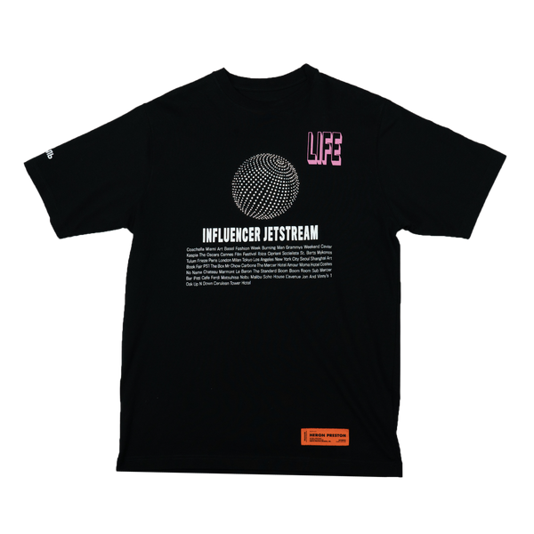 Heron Preston 'Influencer Jetstream' S/S T-Shirt [Black]