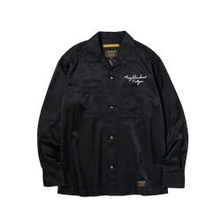 Neighborhood Mil-Souvenir Shirt [Black]