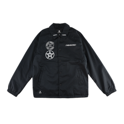 Converse x Neighborhood Coaches Jacket [Black]