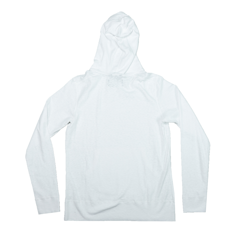 Wings + Horns Knit 1x1 Slub Hoodie [White]