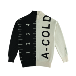 A-COLD-WALL* Color Split Jumper [Black/White]