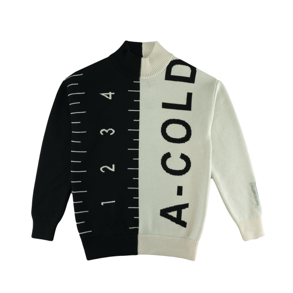 A Cold Wall Color Split Jumper [Black/White]