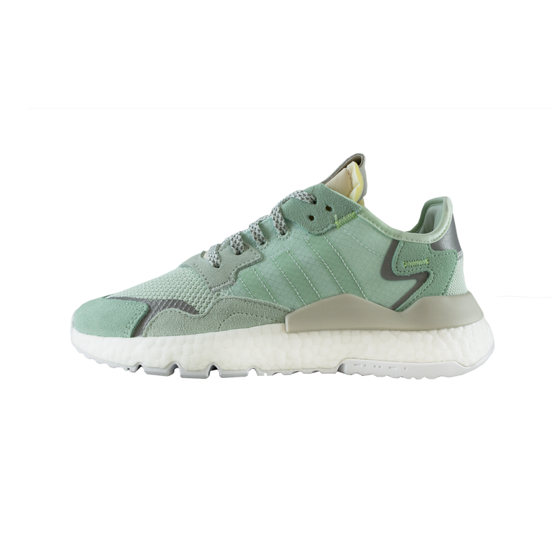 Adidas Nite Jogger Women's in Ice Mint/Raw White  SKU: F33837
