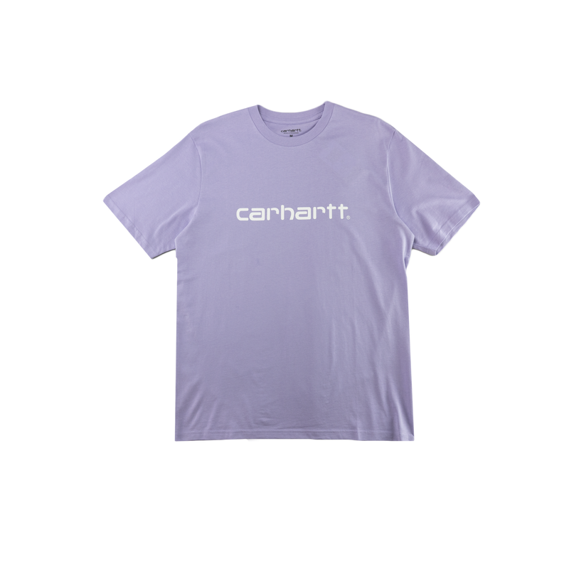 Carhartt WIP S/S Script T-Shirt in Soft Lavender  Style: I023803-03O90