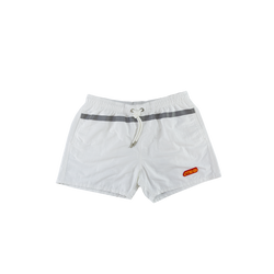 Heron Preston Reflective Swim Shorts in White  Style: HMFA003S196540070119