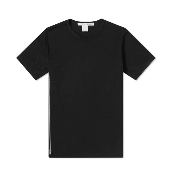 Comme des Garcons SHIRT Side Zip T-Shirt [Black]