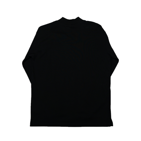 Heron Preston CTNMB Turtle-Neck L/S T-Shirt [Black]