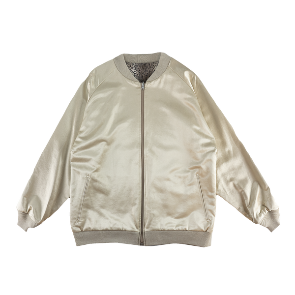 Needles Reversible Rib Collar Jacket [Beige]