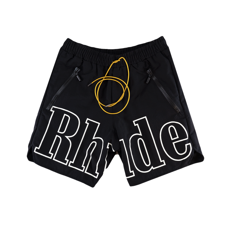Rhude Swim Trunks [Black]