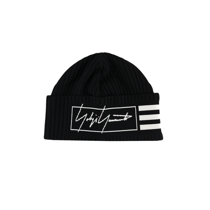 Y-3 3 Stripes Beanie [Black]