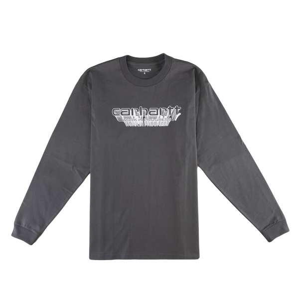 Carhartt WIP L/S Framework T-Shirt [Air Force Grey]