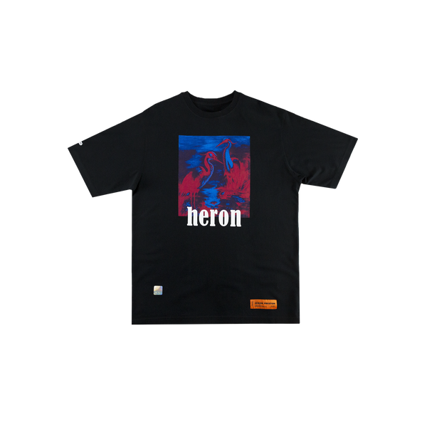 Heron Preston Herons S/S T-Shirt in Black/Multi  Style: HMAA001S196320381088