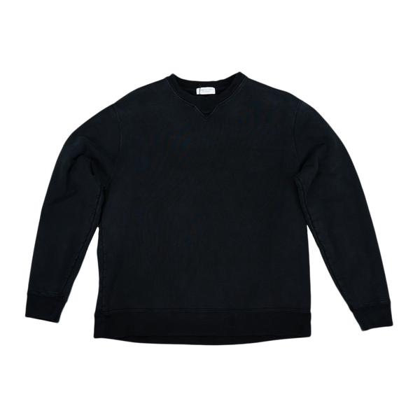 John Elliott Replica Crew Sweatshirt [Washed Black]