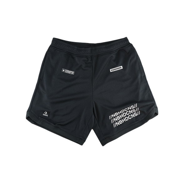 Converse x Neighborhood Mesh Shorts [Black]