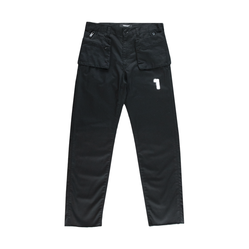 Undercover Exposed Pocket Pants in Black  Style: UCW4517-1