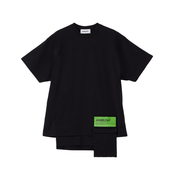 AMBUSH Waist Pocket T-Shirt [Black]