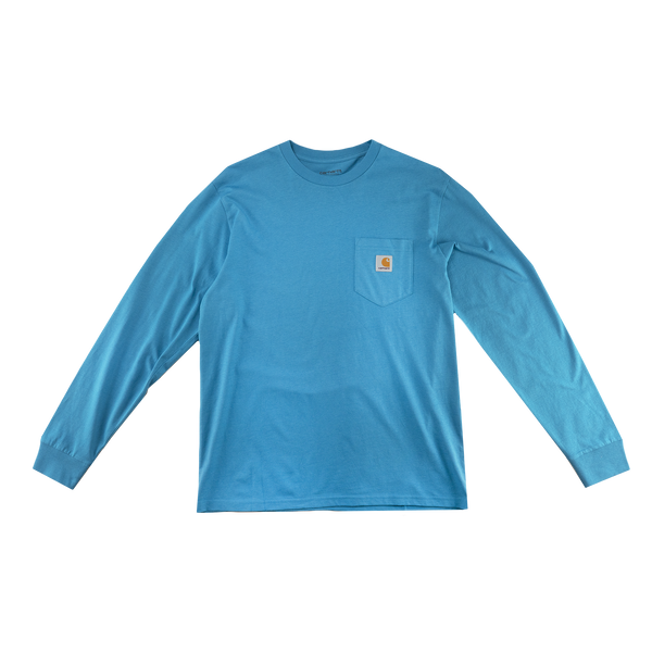 Carhartt WIP L/S Pocket T-Shirt in Pizol  Style: I022094-03S00