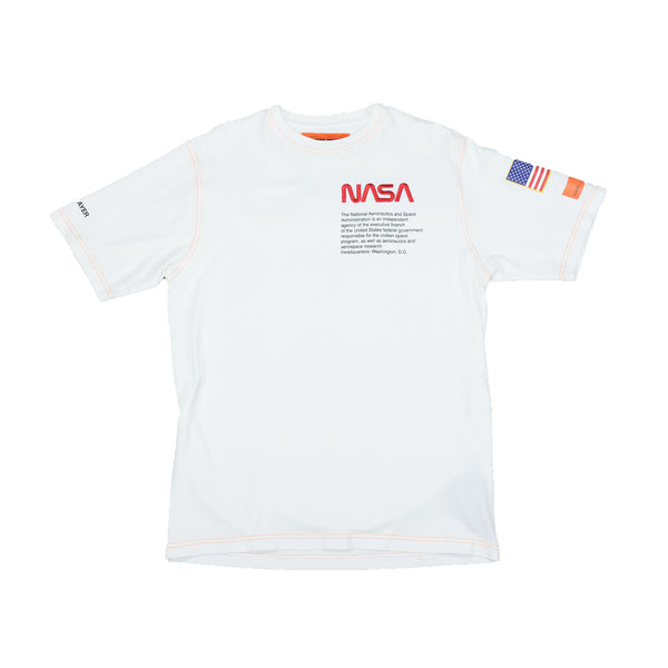Heron Preston NASA S/S Jersey T-Shirt [White]