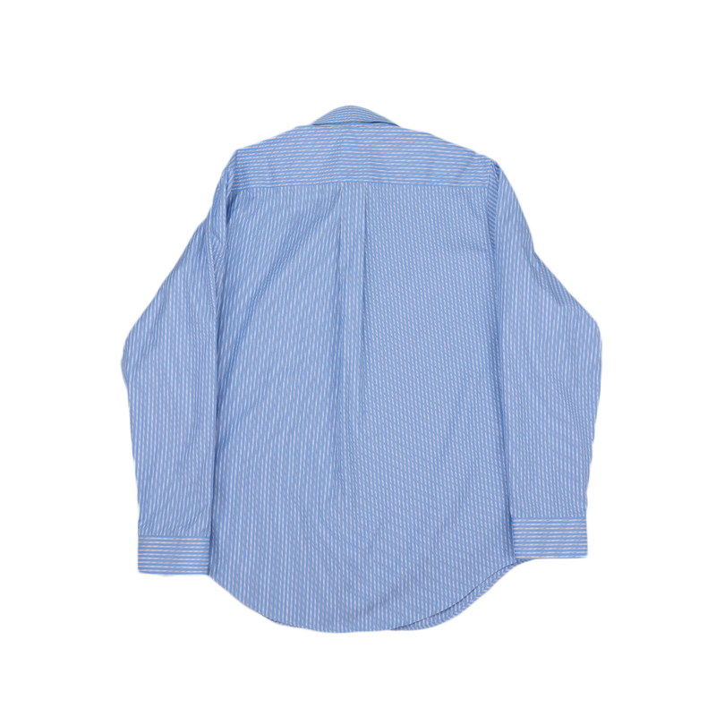 Martine Rose Classic Shirt [White/Blue Stripe]