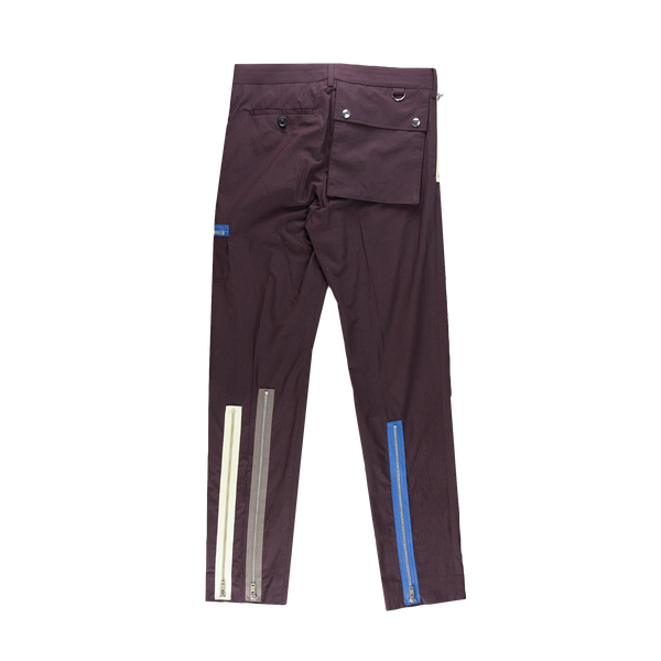 Undercover Zip Trouser [Bordeaux]