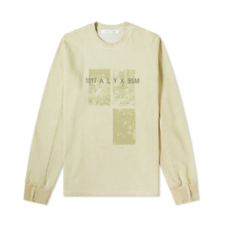 1017 ALYX 9SM Printed Crewneck [Ghost Green]