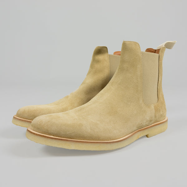Tan Common Projects Chelsea Boot