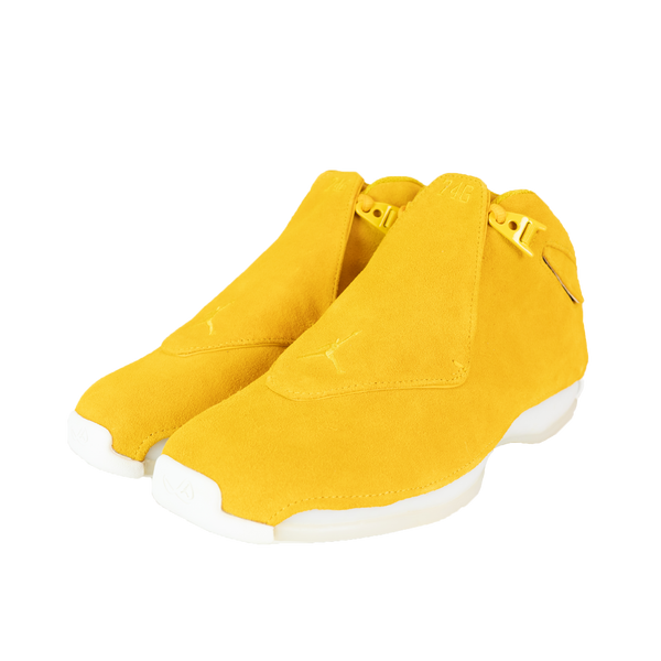 Air Jordan 18 Retro 'Yellow Ochre' [AA2494-701]