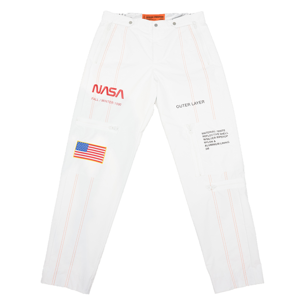 Heron Preston NASA High Tech Pants [White]