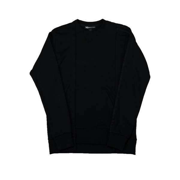 Y-3 Patchwork Sweatshirt [Black]