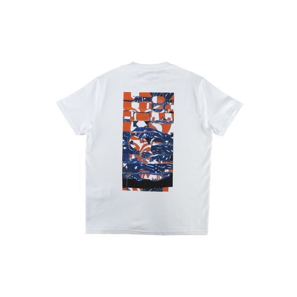 1017 ALYX 9SM Collage S/S T-Shirt in White  Style: AVUTS0003B007